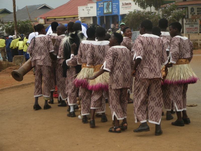 Rafocud Cultural Gala Festival Tentative Program: Parade door het dorp